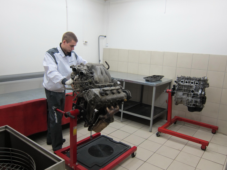 капитальный ремонт двигателя Киев СТО