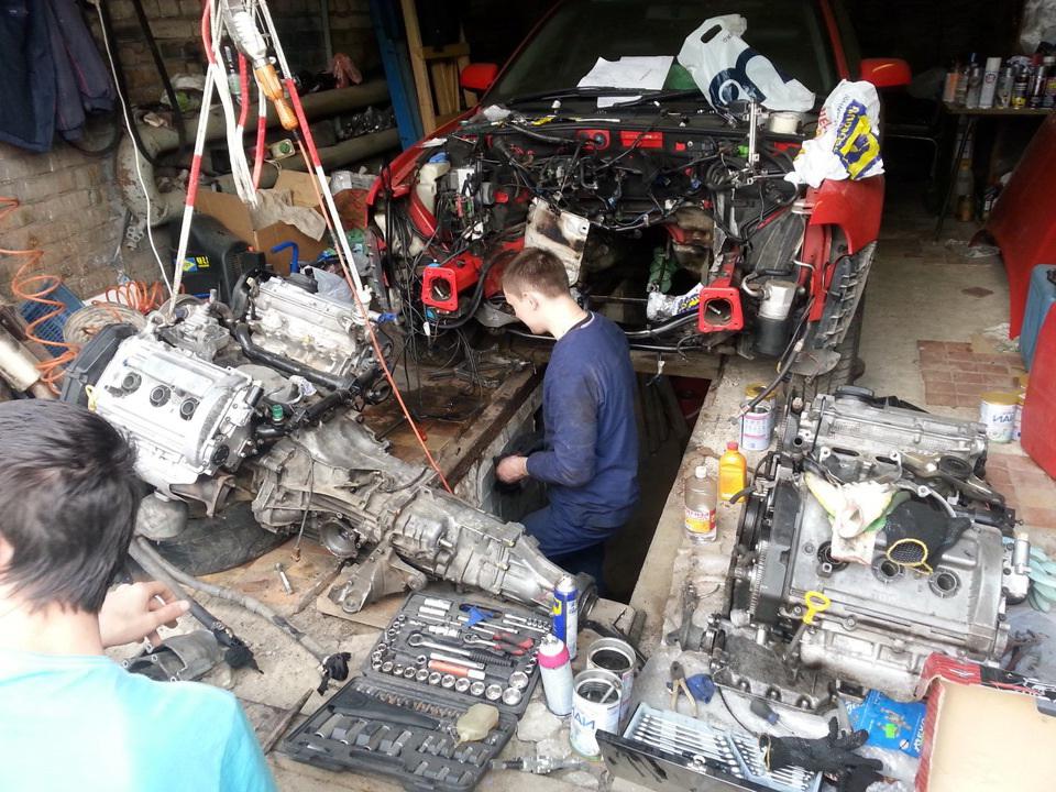 ремонт двигателя Киев