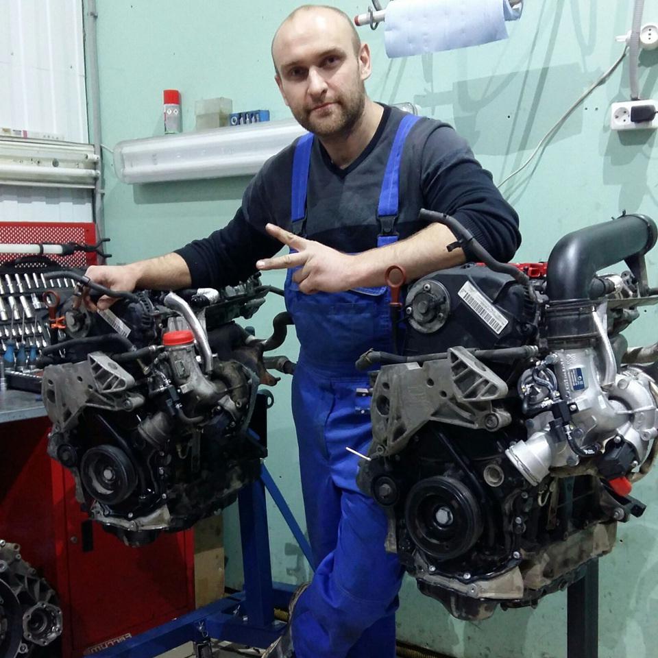 Ремонт двигателя 2.0 fsi с гарантией