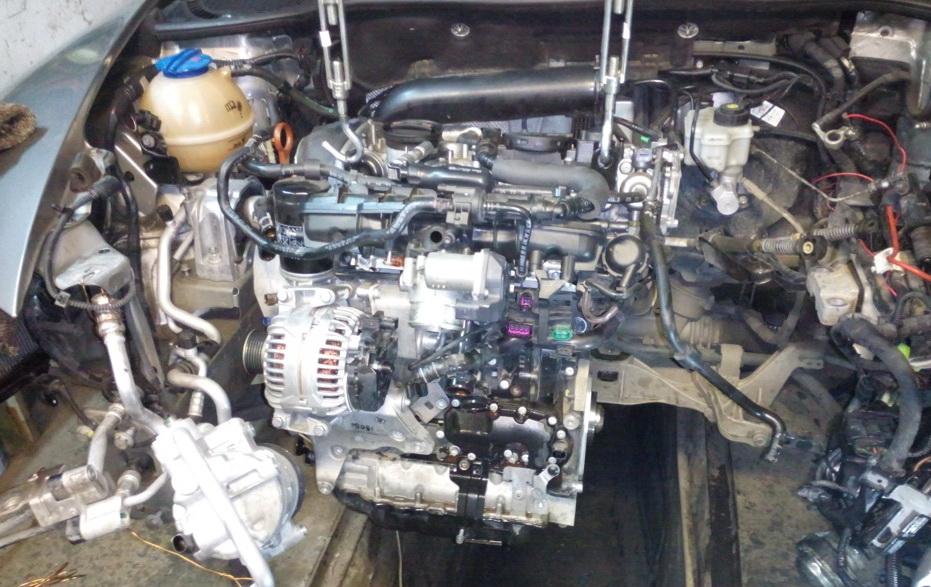 Ремонт двигателя FSI Киев левый берег