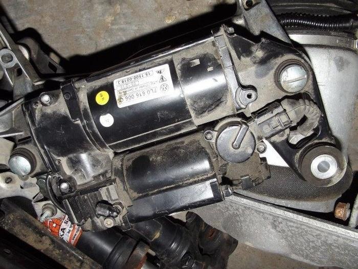 ремонт компрессора пневмоподвески бориспольская
