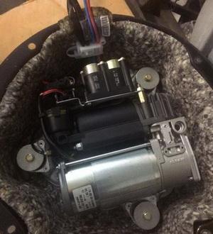 ремонт компрессора пневмоподвески bmw x6