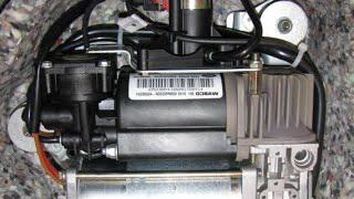 ремонт компрессора пневмоподвески porsche киев сто