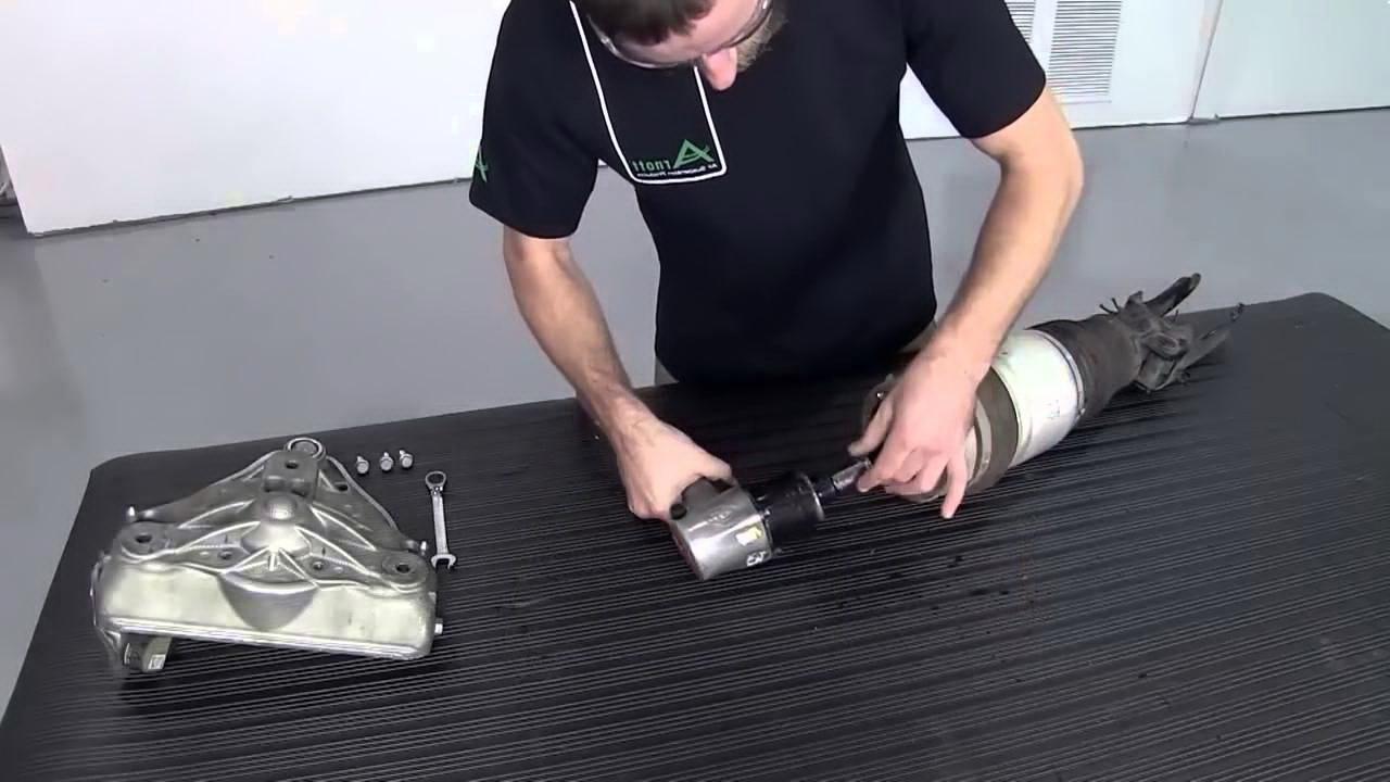 ремонт пневмоподвески audi a7