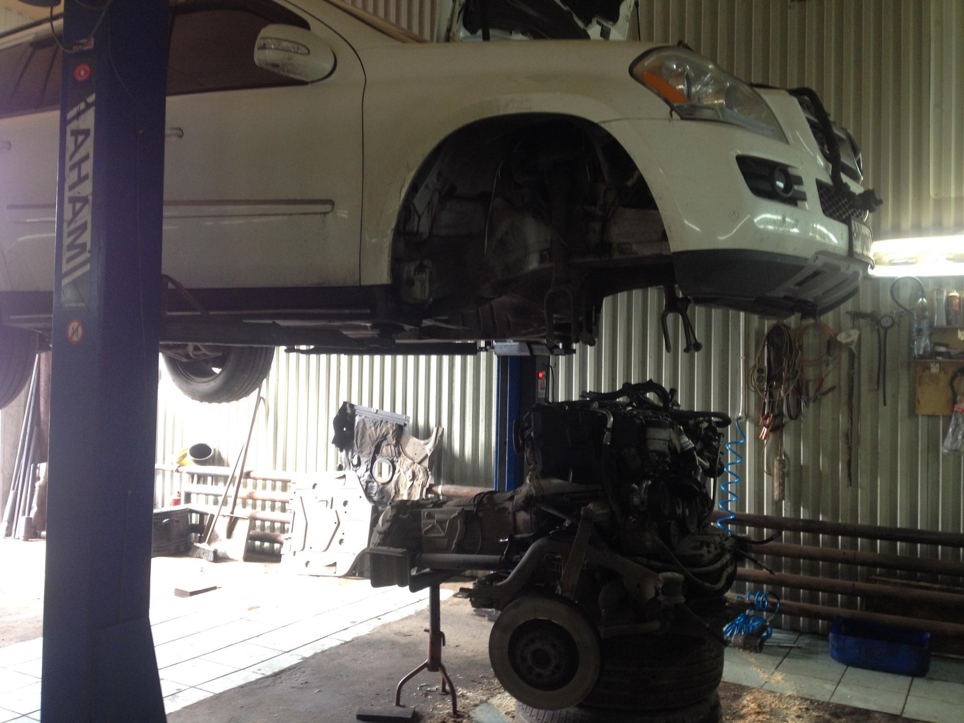 капитальный ремонт двигателя mercedes автосервис Киев