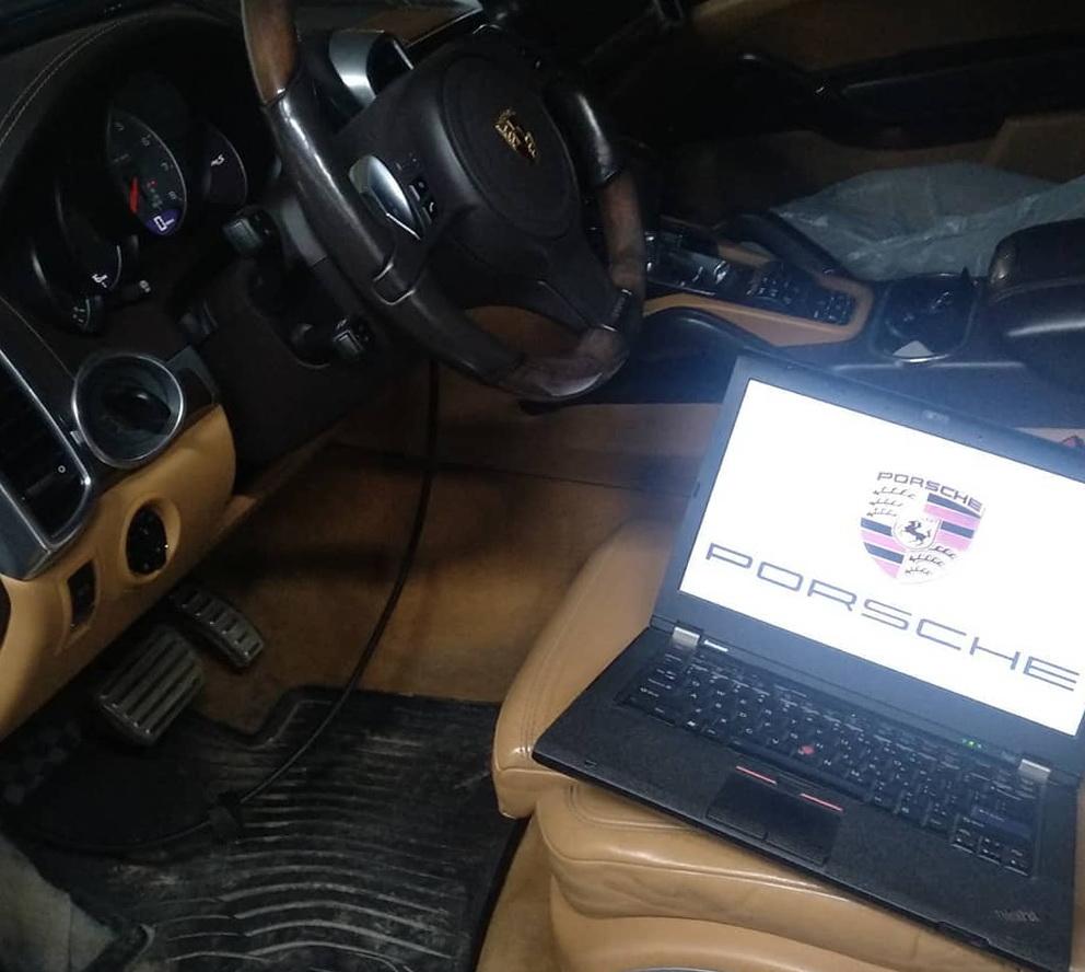 Компьютерная диагностика porsche macan Киев