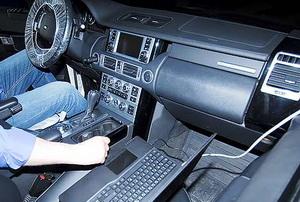 компьютерная диагностика range rover vogue на СТО