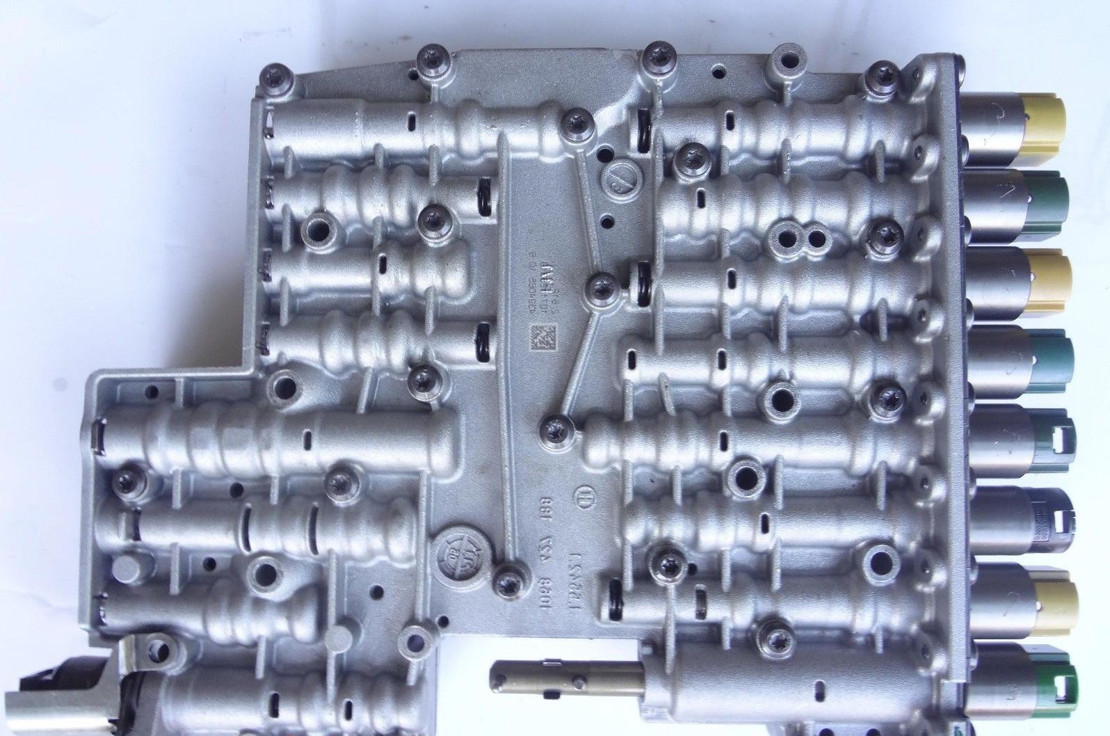 ремонт гидроблока акпп jaguar