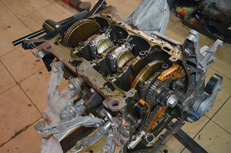ремонт двигателя audi a4 в Киеве