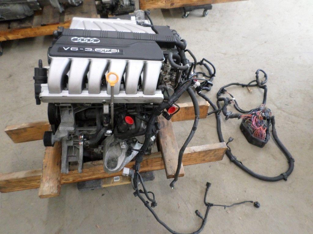 ремонт двигателя fsi audi q7
