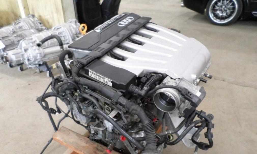 ремонт двигателя audi q7 tfsi позняки