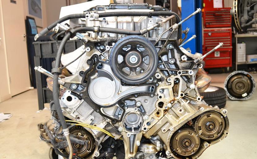 Капитальный ремонт двигателя mercedes Киев