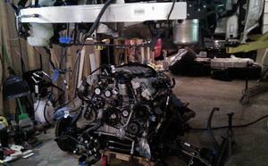 замена двигателя mercedes на СТО