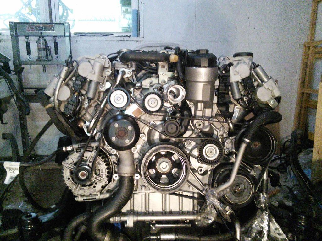 замена двигателя mercedes s-klass качественно