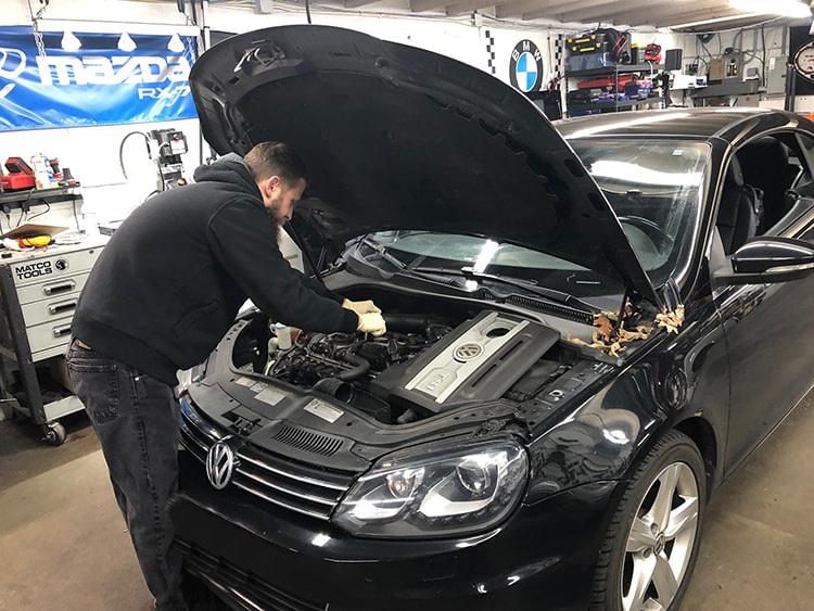ремонт двигателя fsi vw golf запчасти в наличии