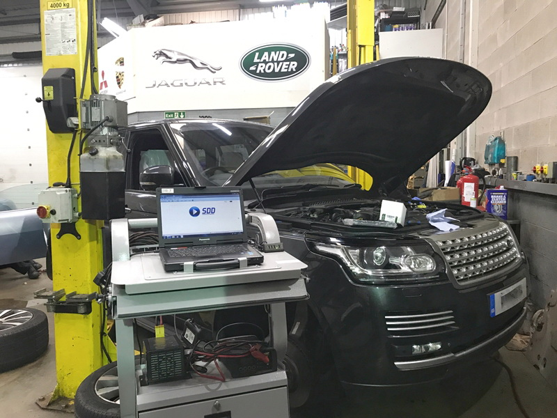 ремонт генератора range rover СТО Бориспольская