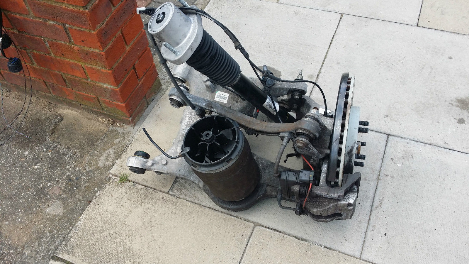 ремонт пневмоподвески range rover Киев