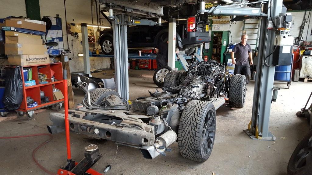 СТО range rover sport Киев